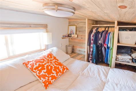 tiny house bed ideas tiny house loft queen bed contemporary bedroom san