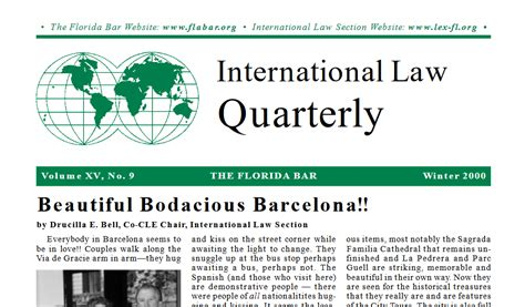 law sections pdf international law quarterly winter 2000 international