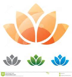 Lotus Flower Icon Lotus Flower Silhouette Icon Stock Vector Image 40331974