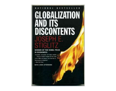 Globalization And Its Discontents joseph stiglitz the center on capitalism and society