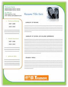 Microsoft Word Resume Templates 2011 Free by Free Word Resume Templates 2011 Gamesworthy