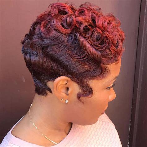 trendy finger wave short hairstyles hairdo hairstyle