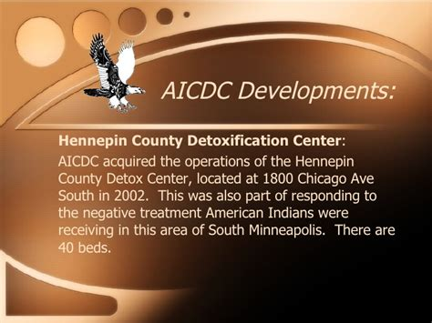 American Indian Detox Center Minneapolis aicdc real estate development
