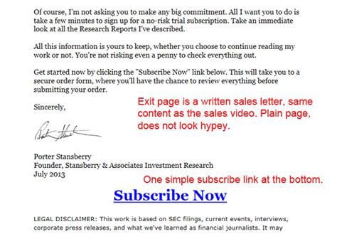 viral email marketing exle from eric s tips