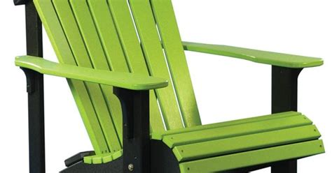 lime chairs deluxe adirondack chair polywood