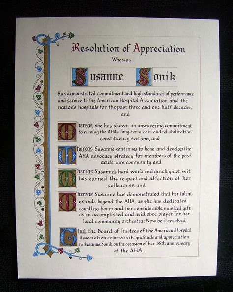 the in calligraphy a visual appreciation of the perfection of wisdom books resolution of appreciation business awards and
