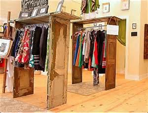 shutter door clothing racks fixtures up retail pop