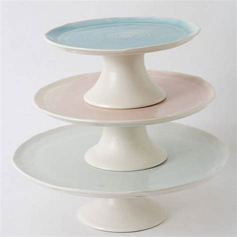 Handmade Cake Stand - handmade porcelain cake stand by bloomfield