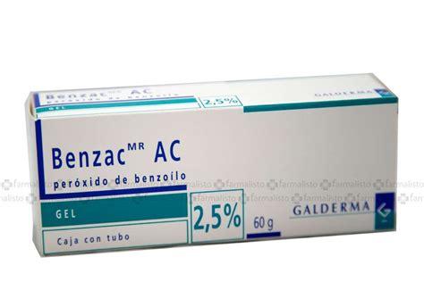 Ac Gel benzac ac 0 025 gel precio tubo con 60 g en m 233 xico y df