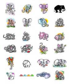 elephant tattoos what do they mean elephant tattoo