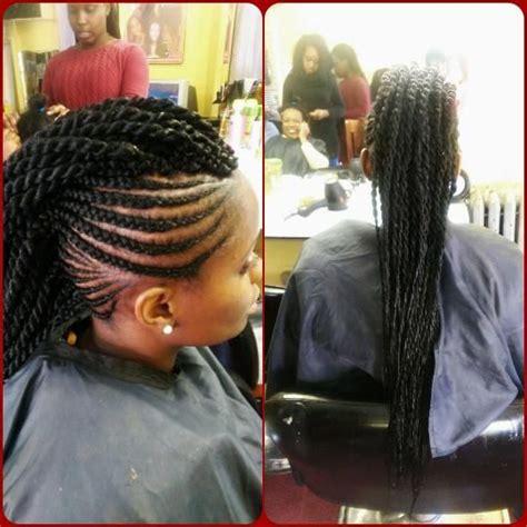 wedding canerow hair styles from nigeria sexy braided mohawk for black women mamahawa pinterest