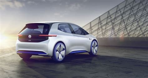 volkswagen electric concept volkswagen i d concept is fully electric and totally