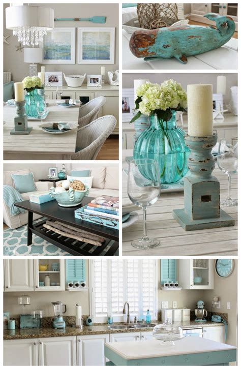 coastal chic beach chic coastal cottage home tour with breezy design