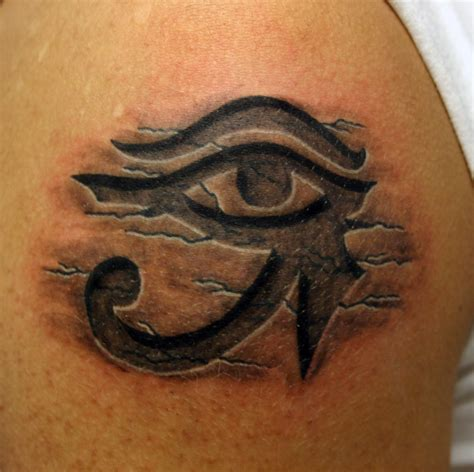 tribal tattoo eyes eye of ra horus pinteres