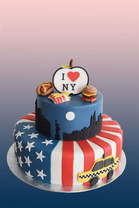 New York Themed Cake Decorations by 10 Best Ideas About New York Cake On New Cake