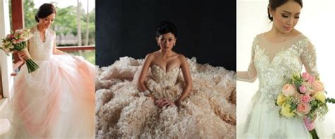 wedding layout philippines pics for gt filipino celebrity wedding dresses