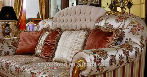 floral fabric sofa set 0038 italy classic style floral print design fabric sofa