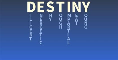 your name destiny what does your name destiny