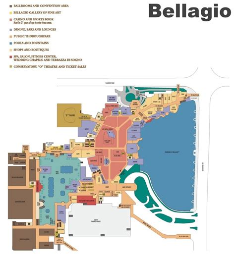 casino in usa map las vegas bellagio hotel map