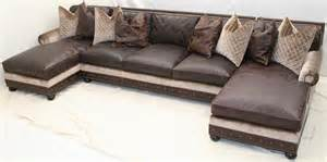 Large Sectionals With Chaise Large Double Chaise Sectional Sofa