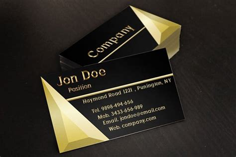 Jewellery Business Card Templates Psd by 30 Amazing Free Business Card Psd Templates