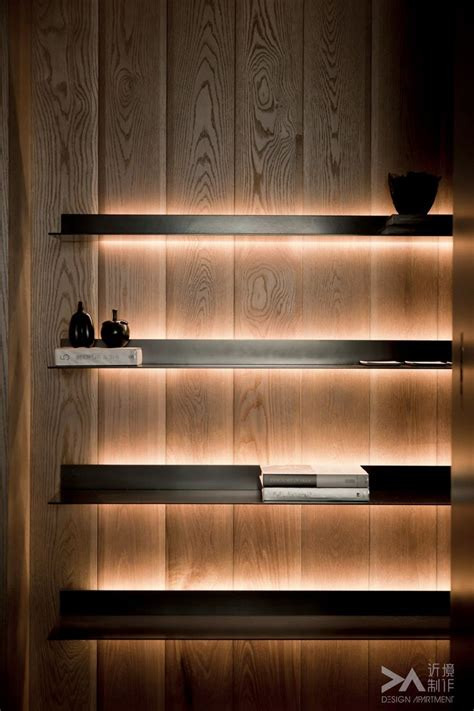 floating shelves with led lights best 25 shelf lights ideas on pinterest led shelf