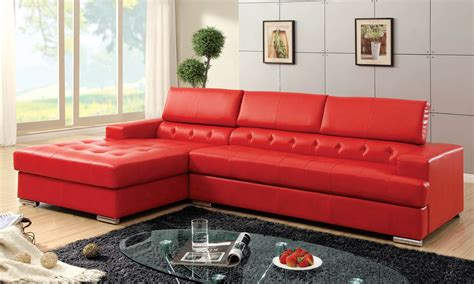 red sectional sofa 18 stylish modern red sectional sofas