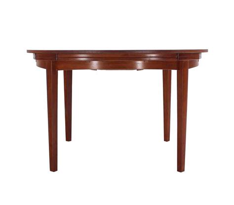 best expandable dining tables rare danish modern teak round expandable top dining table