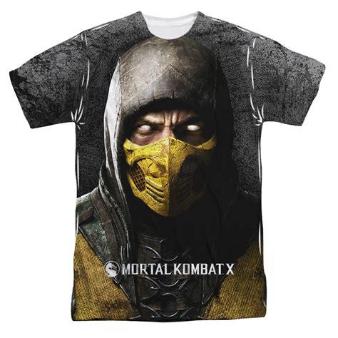L113 Jaket Hoodies Sweater Motal Kombat X Kode Pl113 5 mortal kombat shirt scorpion sublimation shirt mortal kombat scorpion sublimation shirts