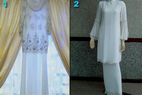 Baju Nikah Muslimah Warna Putih baju nikah putih hairstylegalleries