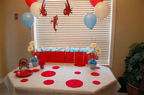Cat In The Hat Baby Shower Ideas by The Cat In The Hat Baby Shower Ideas Photo 1 Of 12