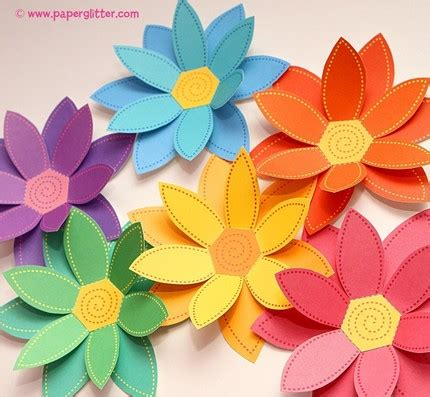 Flower With Papers - decorating with paper flowers thoughtfully simple