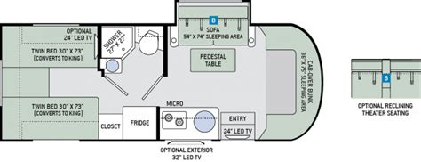 Images Of Floor Plans 2017 Thor Motorcoach Synergy Tt24 Class C Diesel Mercedes