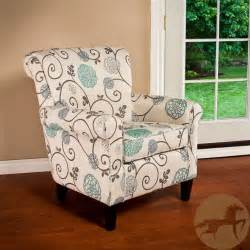 Patterned Club Chair Design Ideas Christopher Home Roseville Fabric Floral Club Chair