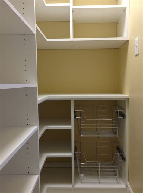 Slide Out Baskets For Pantry by Pantry Storage System Island Pantry Organization