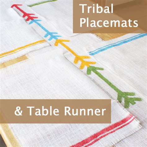 how many yards of fabric for table runner how to tribal placemats table runner