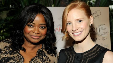 octavia spencer jessica chastain comedy octavia spencer jessica chastain reunite for untitled
