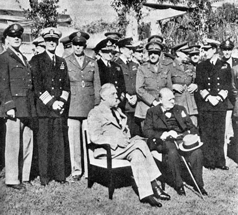 casablanca conference casablanca conference world war 2 facts