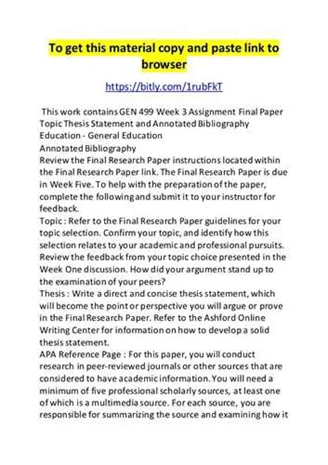 bibliography research paper annotated bibliography research paper a research paper