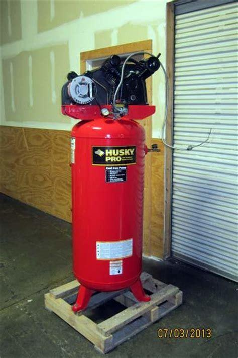Lot #50: 2007 Husky Pro Air Compressor   WireBids