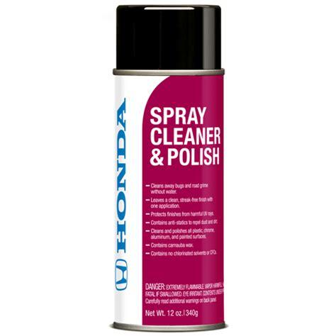 honda spray cleaner  polish bernardi parts