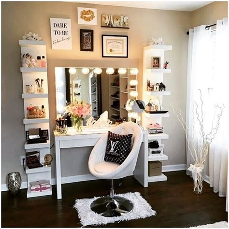 Makeup Vanity Decorating Ideas Unique Makeup Vanity Ideas Makeup Ideas