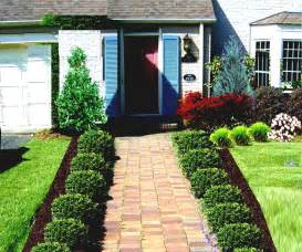 Garden Shrubs Ideas Best Ideas Present Front Yard Lawn Landscaping Landscape Lush Grass And Shrubs Plus Tree For