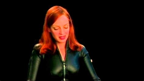 Uma Thurman Wants To Quit Acting To Take Care Of by Uma Thurman Talking About Peel