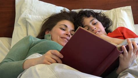 mom son bedroom single mother and son sleeping together or stock footage video by dayowl shutterstock