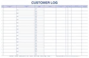Customer Call Sheet Template by Customer Log Bpi Custom Printing