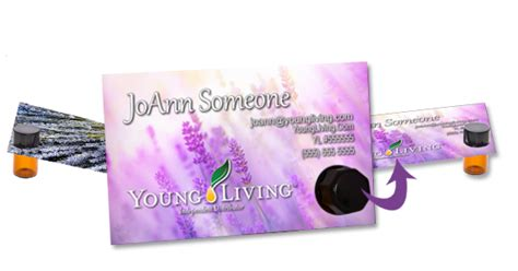 Young Living Invoice Template Hardhost Info Living Business Card Template