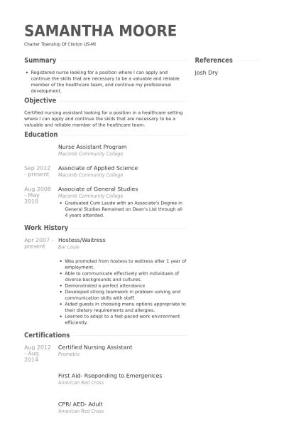 waitress no experience resume sle future effective cf