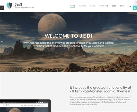 joomla themes detector jedi joomla template download review 2018
