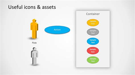 Use Case Powerpoint Diagram Slidemodel How To Use A Powerpoint Template